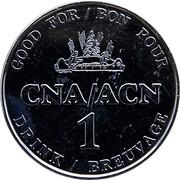 Token - 1 Drink CNA/ACN – reverse