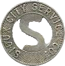 1 Fare - Sioux City Service Co. (Sioux City, Iowa) – obverse