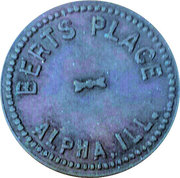 5 Cents - Berts Place – obverse