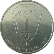 Token - Fort Benning (Georgia) – reverse