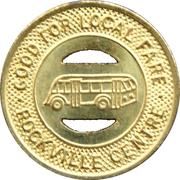1 Local Fare - Rockville Centre Bus Corp. (Rockville Centre, Nassau County, New York) – reverse