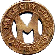 1 City Fare - Maple City Lines (La Porte, Indiana) – obverse