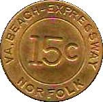 15 Cents - VA. Beach-Expressway (Norfolk, VA) – reverse