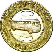 1 Fare - Chittenden C.T.A. (Burlington, VT) – obverse