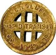 ½ Fare - Honolulu Rapid Transit Co. (Honolulu, Hawaii) – obverse