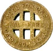 ½ Fare - Honolulu Rapid Transit Co. (Honolulu, Hawaii) – reverse