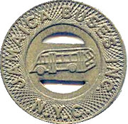 1 Fare - Jamaica Buses Inc. (New York, Queens) – obverse