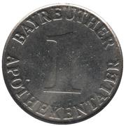 1 Apothekentaler - Bayreuther Apothekengemeinschaft (Bayreuth) – reverse