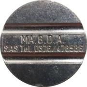 Token - MA.G.D.A. – obverse