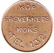 Tram Token - Norrköpings Spårvägar (POLLETT; Norrkoping) – reverse