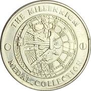 Millennium Medal Collection - Exploration  – reverse
