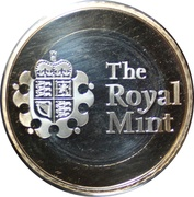 Royal Mint 2020 Premium Medal – reverse