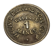 Token - Virginia Marland Coal Corp (Shinnston, West Virginia) – obverse