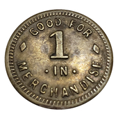 Token - Virginia Marland Coal Corp (Shinnston, West Virginia) – reverse