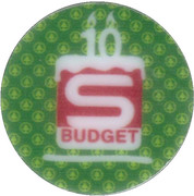 Token - 10 years shop Budget – obverse