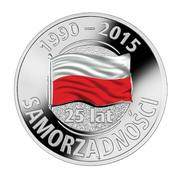 Token - 25 Years of Regional Government in Poland – obverse