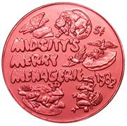 Mardi Gras Token - Krewe of Mid-City (Mid-City's Merry Menagerie; New Orleans, Louisiana) – obverse