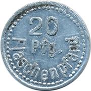 20 Pfennig Deposit Token - Bundesbahn-Sozialwerk (BV Münster) – reverse