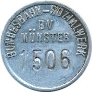 20 Pfennig Deposit Token - Bundesbahn-Sozialwerk (BV Münster) – obverse