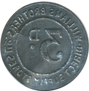 3 Pence - Williams Brothers Direct Supply Stores – reverse
