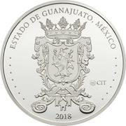 Token - Estado de Guanajuato (Parroquia de San Miguel Arcángel) – reverse