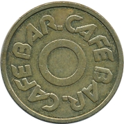 Token - Cafe Bar – obverse