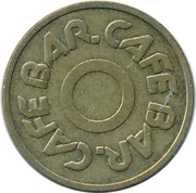Token - Cafe Bar – reverse
