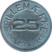 25 Spillemærke - Indløses Ikke – obverse