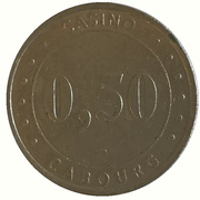 50 Cents - Casino Cabour – reverse