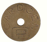 Parking Token - Cardoen – obverse