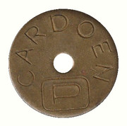 Parking Token - Cardoen – reverse