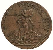 Token - Louis XV (Apollon) – reverse