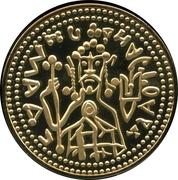 Replica - Zlatnik Vladimir the Great – obverse
