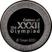 Medal - Tokyo 2020 - XXXII Olympiad – obverse