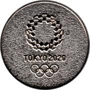 Medal - Tokyo 2020 - XXXII Olympiad – reverse