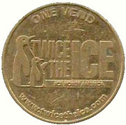 Token - Twice The Ice (Jacksonville Beach, Florida) – obverse