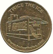 Token - Twice The Ice (Jacksonville Beach, Florida) – reverse