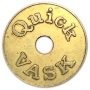 Car Wash Token - Quick Vask – obverse