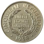 Medal - Présidents de la République Française (Mitterrand) – reverse