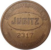 2 Dollars - Jubitz Truck Stop (Portland, Oregon) – reverse