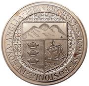 Medal - Boston Massacre 200th Anniversary (Boston, Massachusetts) – reverse