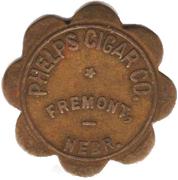 1 Dollar - Phelps Cigar Company (Fremont, Nebraska) – obverse