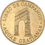 1 Euro - d'Aix-les-Bains (Arc de Campanus) – obverse