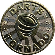 Token - Tornado Darts (Kaohsiung) – obverse