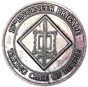 Challenge Coin - 18th Engineer Brigade – obverse