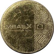 Token - MBAex (Master Blockchain Trading) – obverse