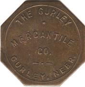 1 Dollar - The Gurley Mercantile Company (Gurley, Nebraska) – obverse