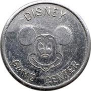 Amusement Token - Disney Game Center – obverse
