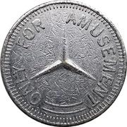 Amusement Token (Mercedes-Benz Trademark) – reverse