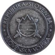 Token - Slovenska vojska (CBU) – reverse